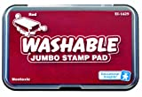 Educational Insights Jumbo Washable Stamp Pad Red
