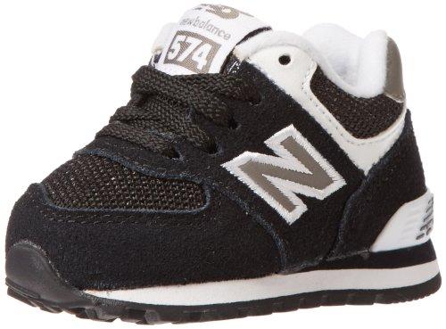 New Balance Classic Traditionnel Black White Kids Trainers Multicolor - negro/blanco/gris