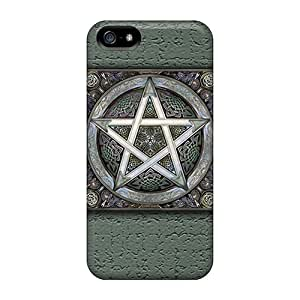 Shock-dirt Proof Pentigram Cases Covers For Iphone 5/5s