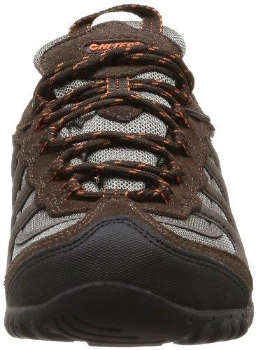 Hi-Tec Penrith Low Wp O002868052 - Zapatos de cuero para hombre, color gris, talla 40 Marrón (Marron (Chocolate/Taupe/Orange))