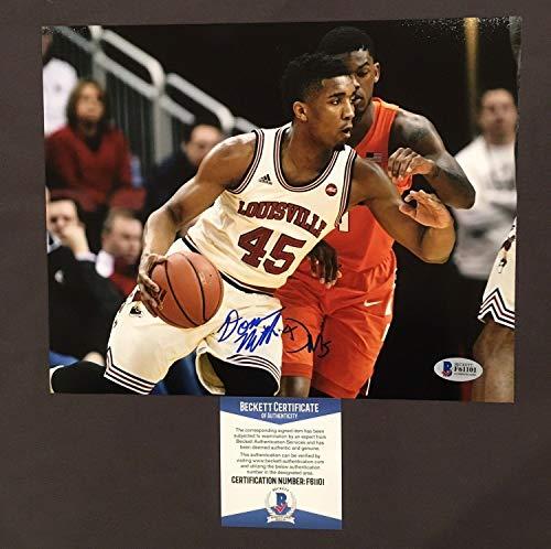 Donovan Mitchell Autographed Signed Memorabilia 8x10 Photo - Beckett Authentic