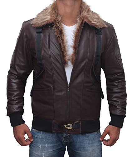 The Vulture Spiderman Homecoming Real Leather Jacket For Boys (Leather Jacket Movie)