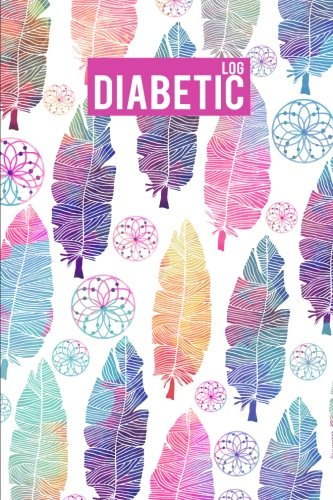 Diabetic Log: Ethnic Watercolor - Blood Sugar Mornitoring Book Portable Size 6