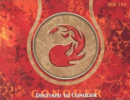 Magic the Gathering MTG - Born of the Gods Prerelease Pack - Destined to Conquer RED