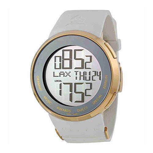 63592ff3e44 Men s Gold Tone Limited Edition 114 I-Gucci White Strap - Fashion