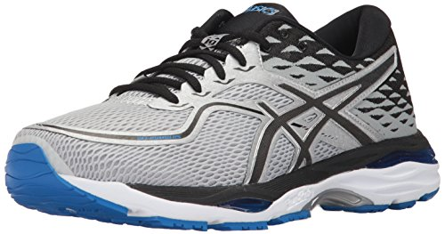 ASICS Men's Gel-Cumulus 19 Running-Shoes, Grey/Black/Directoire Blue, 11 Medium US