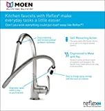 Moen Brantford Motionsense Touchless One-Handle High-Arc Pulldown Kitchen Faucet Featuring Reflex, Oil-Rubbed Bronze (7185EORB)