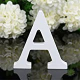Peyan 3D Wooden Alphabet Letters Plaque Wall Home Office Wedding Party Decoration