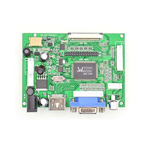 GeeekPi 7 inch 1024 x 600 HDMI Screen LCD Display with Driver Board Monitor for Raspberry Pi by GeeekPi (Image #3)