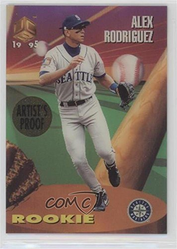 Alex Rodriguez (Baseball Card) 1995 Sportflix UC3 - [Base] - Artist's Proof #115 -