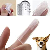 98108 1 261v5t4nr5t Pcs Pet Supply p54l4p55 Finger Soft Tooth Brush Dental Care for Dog Cat Rubber Material uiobvx dwe34rt Features: * Good 4be7niwkrh1 to reduce plaque and 6989utx