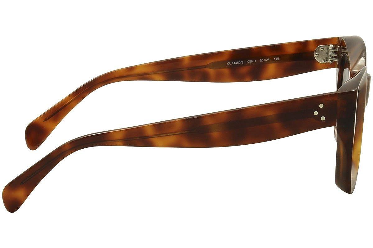 0e74c27326 Celine Womens Women s Cl 41450 S-086 Ir 50Mm Sunglasses at Amazon Men s  Clothing store