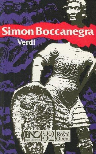 Simon Boccanegra: English National Opera Guide 32 (English National Opera Guides)