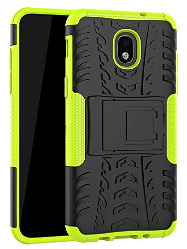 - Galaxy J7 Refine Case,J7 V 2018,Galaxy J7 Top,J7 Crown,J7 Aero,J7 Aura,J7 Eon,J7 Star Case, Yiakeng Shockproof Protective with Kickstand Phone Cases for Samsung J737V,J737T (Green)