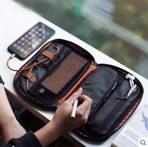 Beschan Canvas Waterproof Universal Travel Cable Gear