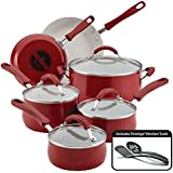 Farberware New Traditions Aluminum Nonstick 12-Piece Cookware Set.