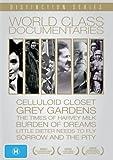World Class Documentaries (6 Films) - 7-DVD Box Set ( The Celluloid Closet / Grey Gardens / The Times of Harvey Milk / Little Dieter Needs to Fly / Bu [ NON-USA FORMAT, PAL, Reg.0 Import - Australia ]