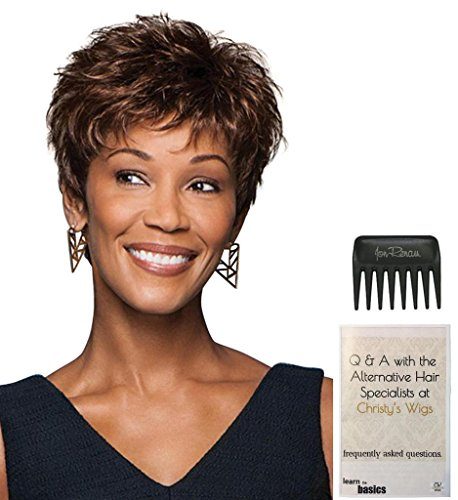 Zest Wig by Gabor, 15 Page Christy's Wigs Q & A Booklet & Wide Tooth Comb COLOR SELECTED: G27+ by Gabor & Christy's Wigs