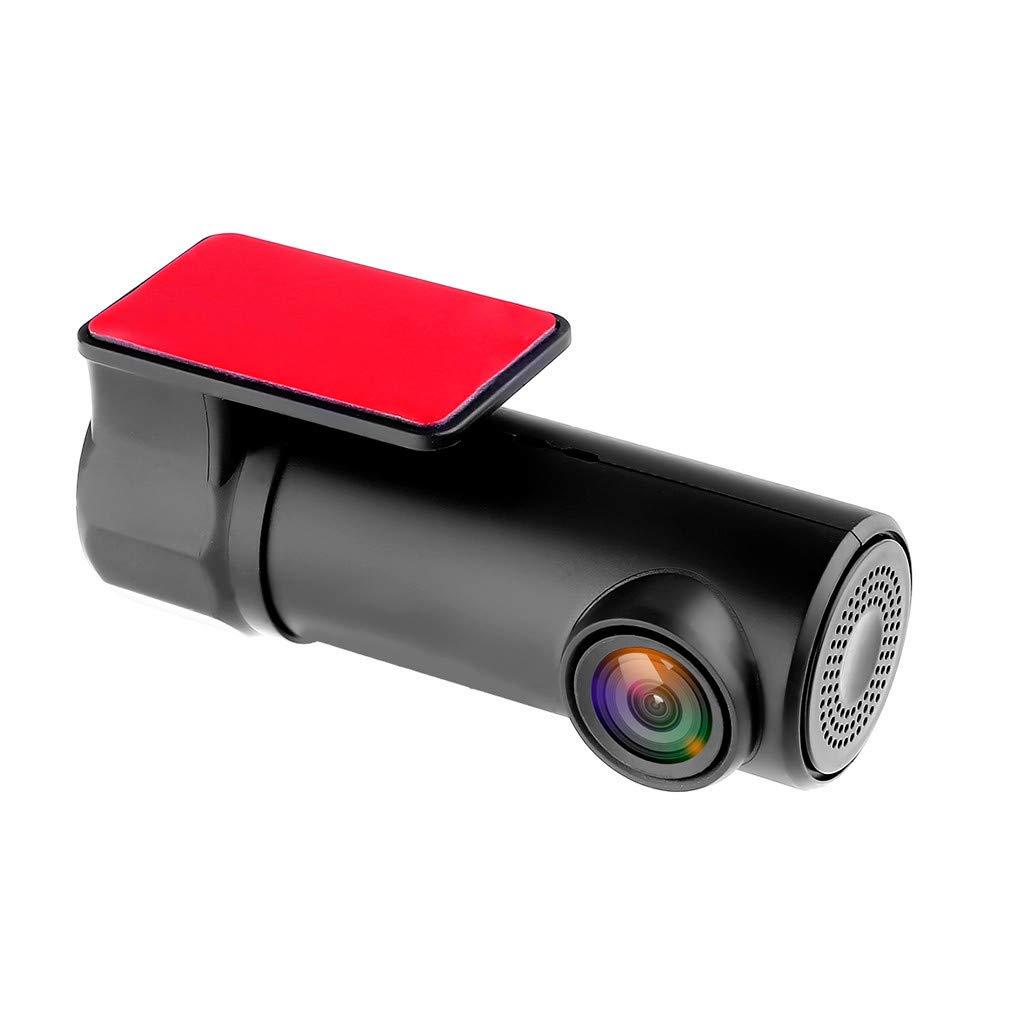 Lnicesky 1080P Hidden Car Camera WiFi DVR Dash Cam Recorder Camcorder Night Vision CAM Black by Lnicesky