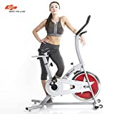 Goplus Stationary Bike Indoor Cycle Trainer Adjustable Exercise Bike Gym Cycling Cardio Workout Review