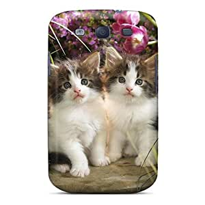 For Phone Case Galaxy Protective Case, High Quality For Galaxy S3 Come Little Kitty Skin Case Cover