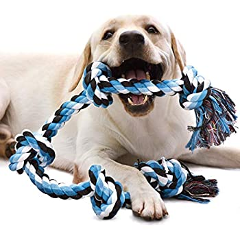 Pet Supplies : KILIKI Dog Rope Toys for Aggressive Chewers