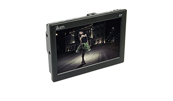 Certified Refurbished Ikan D7-S 7 3G-SDI LCD Monitor W// Sony L Battery Plate