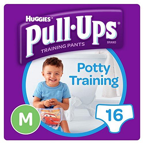 Huggies Pull Ups Day Time Potty Size Medium Training Pants Boys, 10 to 18...