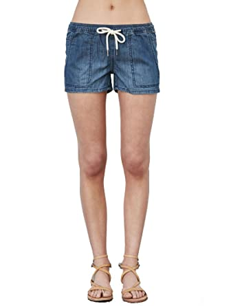 ec0b1b8473 Blank NYC Drawstring Utility Shorts, Take A Wild Guess, 25 at Amazon  Women's Clothing store: