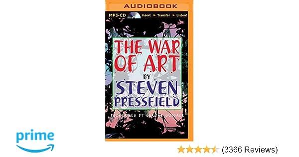 War of Art, The: Steven Pressfield, George Guidall