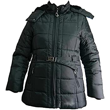 Amazon.com: Baby Phat Wool Winter Coat in black (Small