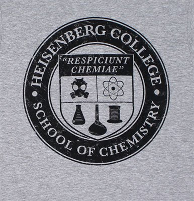 T-Shirt - Breaking Bad - Heisenberg College