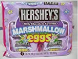 chocolate covered eggs - Hershey's Marshmallow Egg, 6-Count, 5.7-Ounce Package