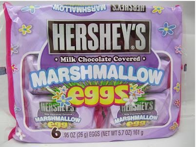 Hershey's Marshmallow Egg, 6-Count, 5.7-Ounce Package