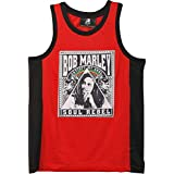 Bob Marley Men's Basketball Jersey Red