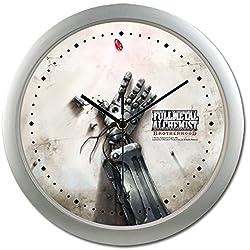 Fullmetal Alchemist Brotherhood Eds Automail Hand Wall Clock