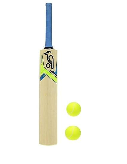 4250355f5db Buy M M Kids Junior Cricket Bat with 2 Balls, 10-12 Year Online at ...