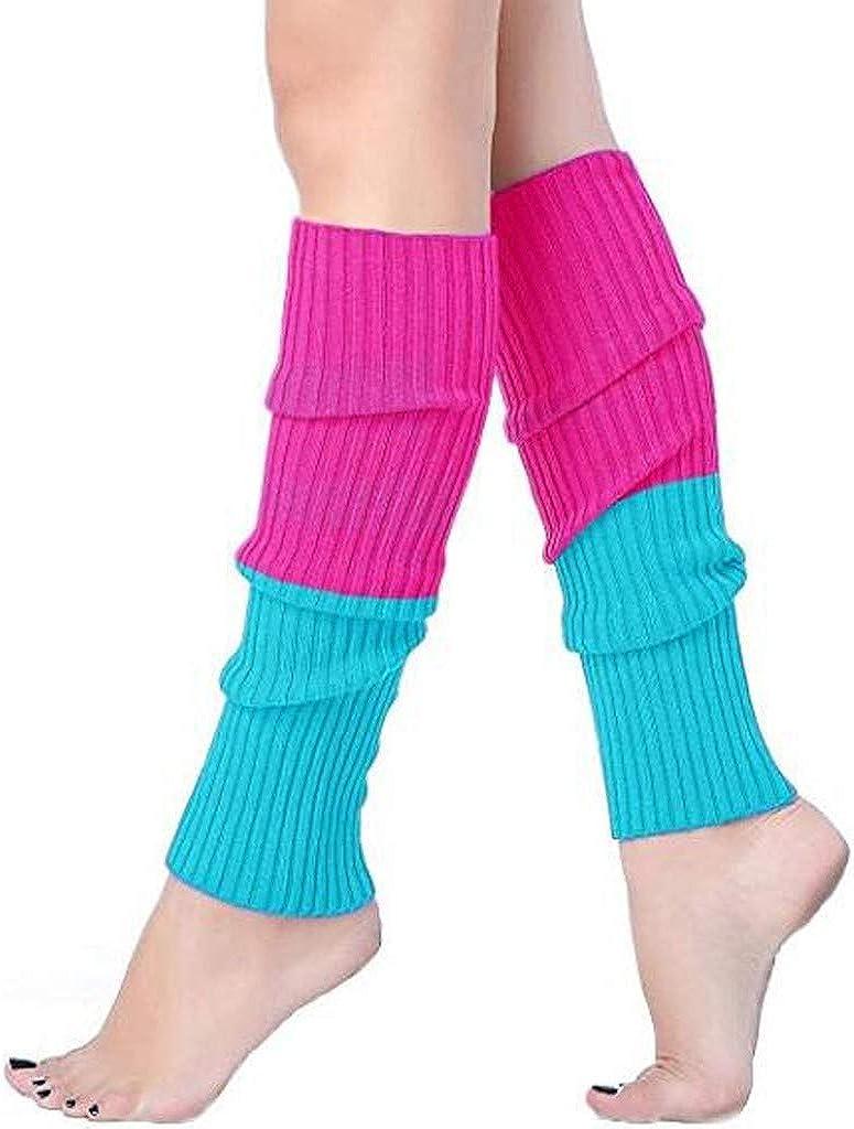 Damen Socken Frauen-Stiefelmanschetten-W/ärmer-Knit-Bein-Str/ümpfe Freizeit Warm Gesch/ützt Stulpen
