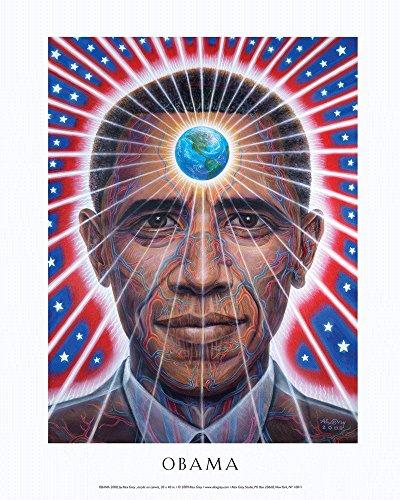 Obama Mini Poster - Alex Grey - Obama - Mini Poster