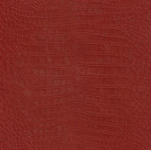 474114 - African Queen II Cocodile Alligator Animal Skin Red Galerie Wallpaper