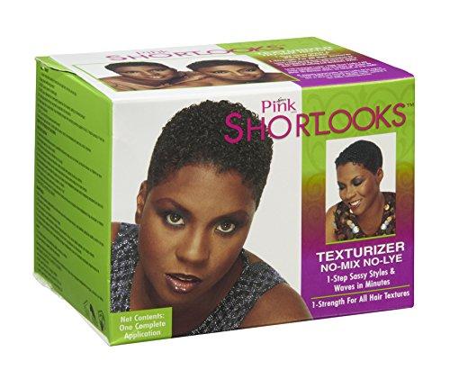 Shortlooks Luster's Pink Short Looks No-lye Texturizer Ki...