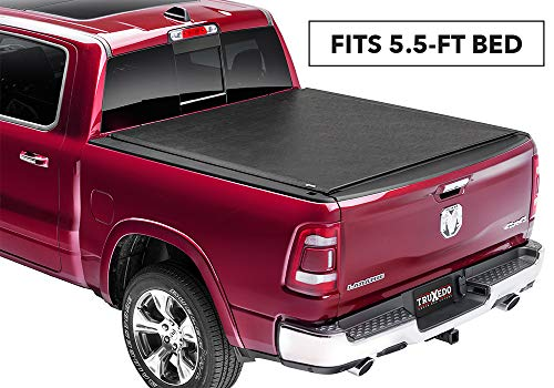 TruXedo 585901 Lo Pro Black 5.7 w/Out RamBox Roll-up Truck Bed Cover