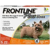 Frontline Plus for Dogs Small Dog (5-22 pounds) Fl...