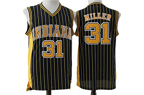 Mens Miller Jersey 31 Indiana Reggie Strip