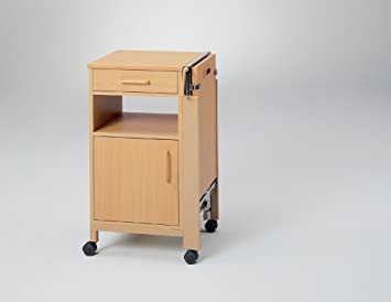 Nachttisch Fur Pflegebett Cherusker Pflegebetttisch Amazon De