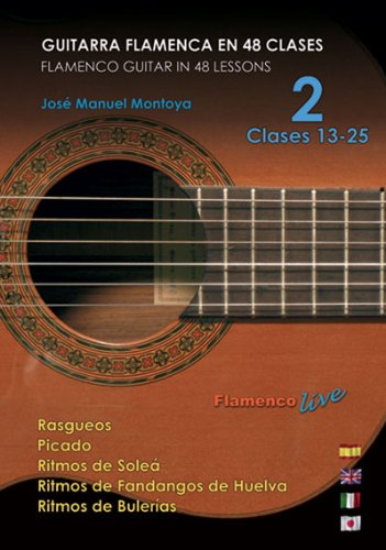 Guitarra Flamenca en 48 clases - 2 Clases 13-25 / Flamenco Guitar ...