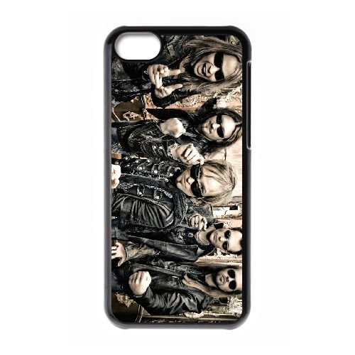 Edguy 006 coque iPhone 5C Housse téléphone Noir de couverture de cas coque EOKXLLNCD17231