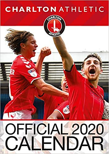 Official A3 Month to View Wall Calendar Charlton Athletic FC  2020 Calendar