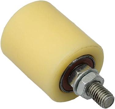 BQLZR 6200 - Rodillo de plástico para puerta corredera eléctrica (50 x 60 mm): Amazon.es: Bricolaje y herramientas