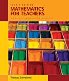 Bundle: Mathematics for Teachers: An Interactive Approach for Grades K-8, 4th + Enhanced WebAssign with eBook LOE Printed Access Card for One-Term Math and Science, Thomas Sonnabend, 0538781637
